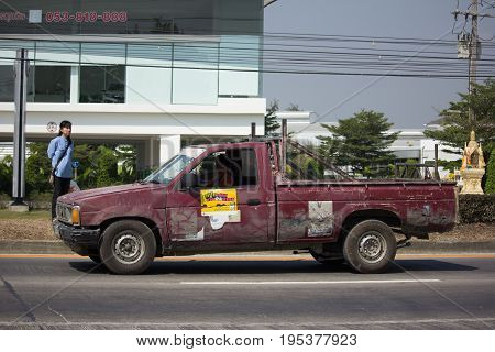 Private Pickup Car Nissan Big M.