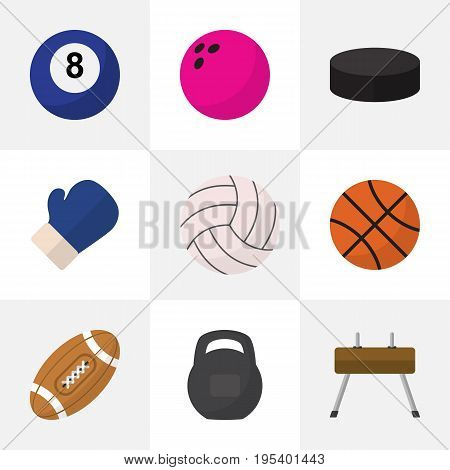Set Of 9 Editable Lifestyle Icons. Includes Symbols Such As Washer, Kegling, Circle And More. Can Be Used For Web, Mobile, UI And Infographic Design.