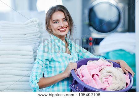 Girl Near Rose And White Linen