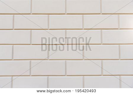 A background from white rectangular stone blocks