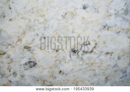 Fragment of a floor covering marble with natural pattern.