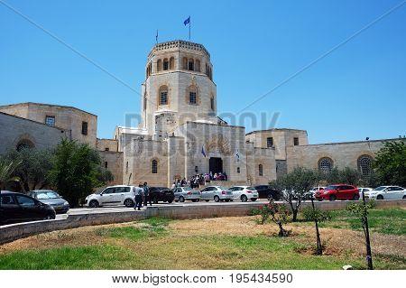 JERUSALEM ISRAEL - JUNE 25 2017: Rockefeller Archaeological Museum in Jerusalem