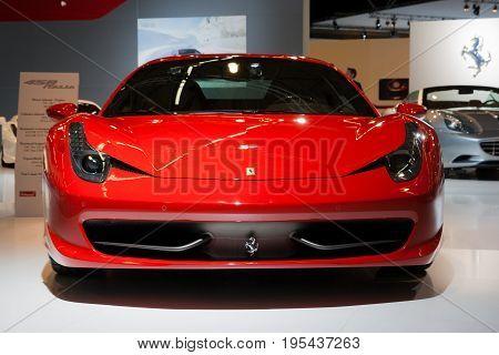 Ferrari 458 Italia Sports Car