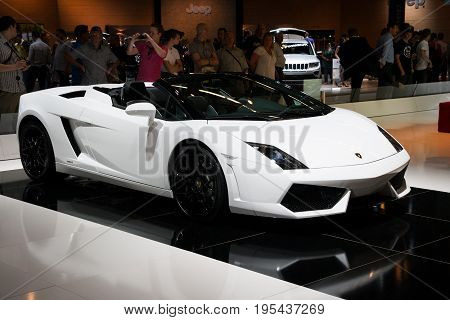Lamborghini Gallardo Spyder Sports Car