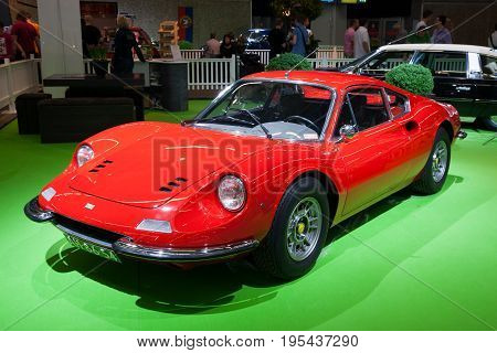1972 Ferrari Dino 246 Gt Coupe Sports Car