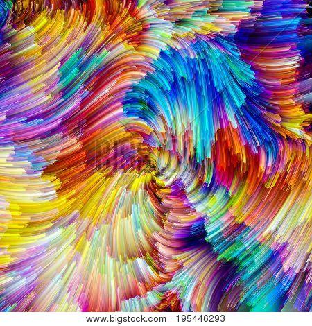 Energy Of Painter Palette