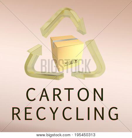 Carton Recycling Concept