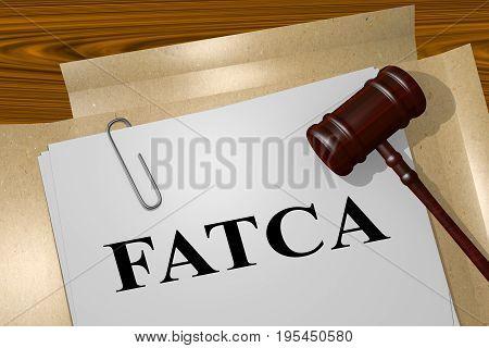 Fatca - Legal Concept
