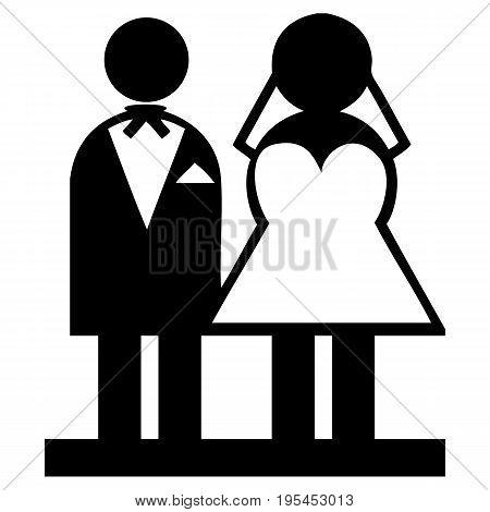 Wedding Married Men Female Icon