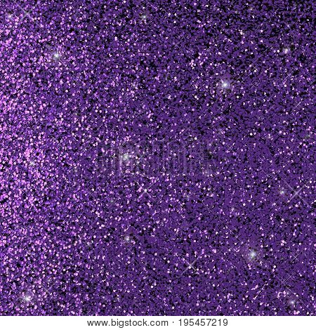 3d rendering shiny and luxury violet glitter background
