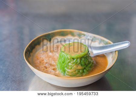 image of Thai dessert