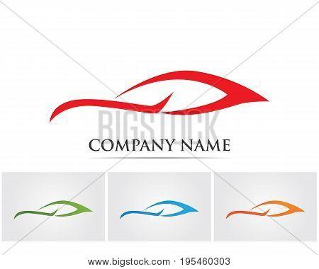 Vector - Car silhouette logo and symbols