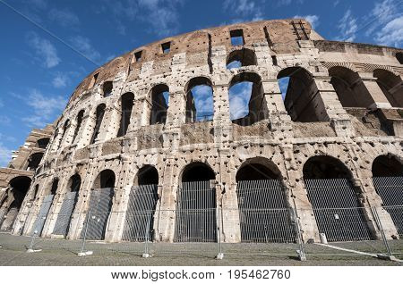 General view of the Colosseum, Rome, Italy