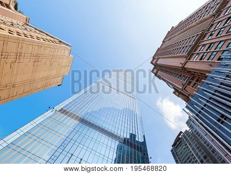 Urban Landscape and Commercial Building Chongqing China.