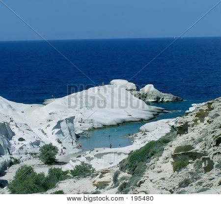 Sarakiniko, Milos Island