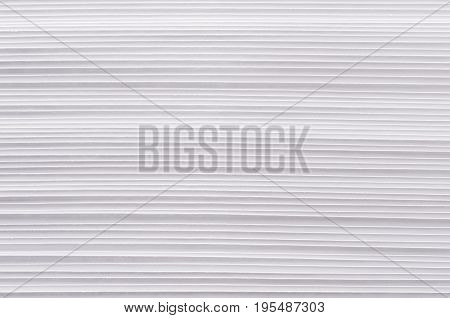 Striped rough white paper texture abstract background.