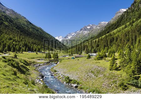 Jamtal Menta Alm, Austria