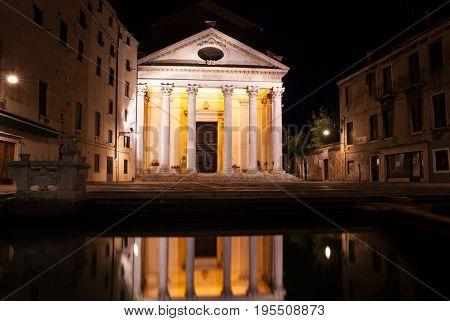 Chiesa di San Nicolò da Tolentino commonly known as the Tolentini is a church in the sestiere of Santa Croce in Venice