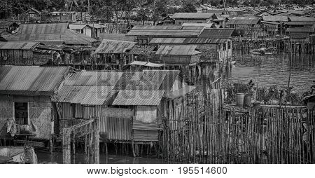 House In The  Slum For Poor  People