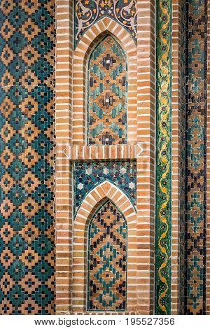 Exterior of public bath in Tbilisi Georgia a fine example of islamic architectural style