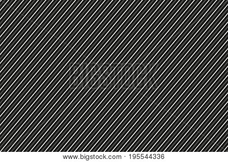 Dark abstract background black and white striped pattern vector illustration