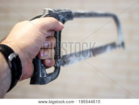 Metal Cutter In The Hand