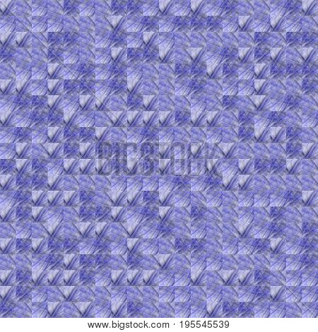 Abstract Grunge Blue Texture Fractal Patterns