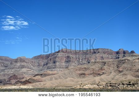 Landscapes On Pierce Ferry Road, Meadview. Grand Canyon National Park, Arizona, Usa