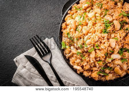 Mexican Rice And Beans Bowl