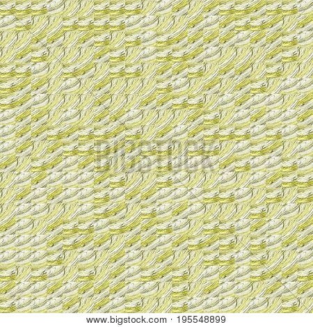 Abstract Grunge Yellow Texture Fractal Patterns