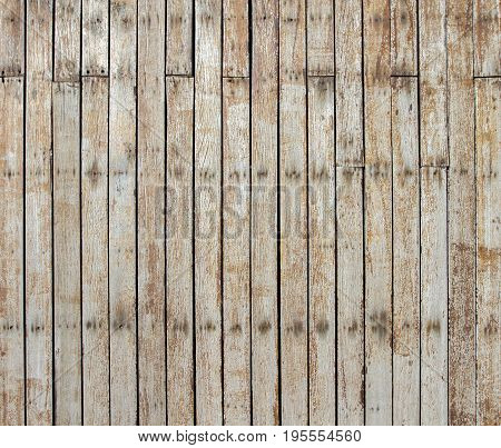 Aged wooden plank background, close - up