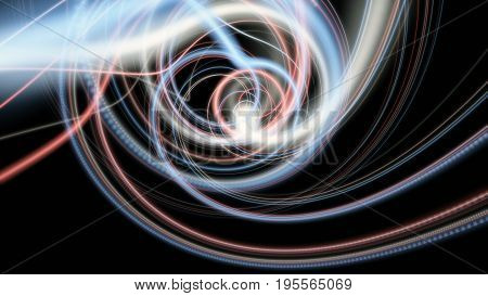 Fantastic And Futuristic Particle Stripe Background Design Illustration
