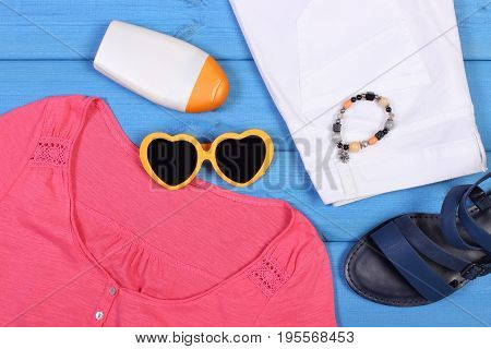 Clothing For Woman And Accessories For Vacation And Summer