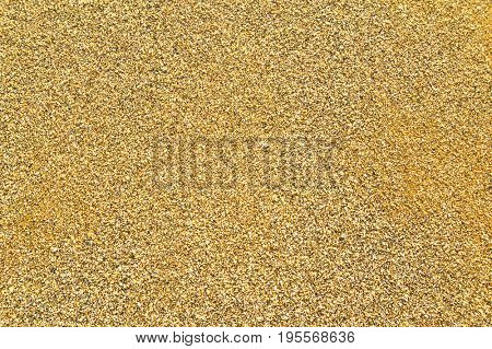 Background of Warm Summer Beach Sand. Travel and Vacation Concept.