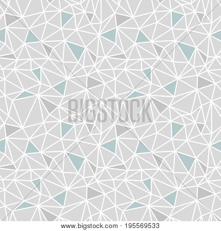 Vector abstract low poly seamless pattern. EPS10