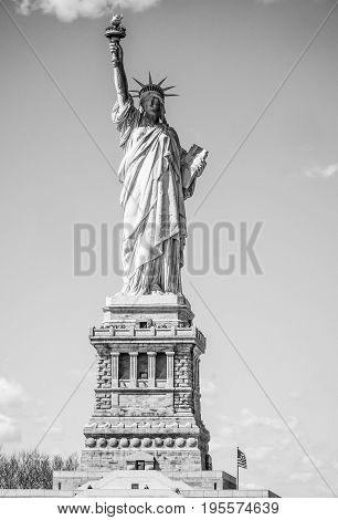 The Statue of Liberty in New York- MANHATTAN - NEW YORK
