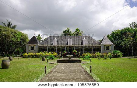 Eureka Mansion In Moka, Mauritius