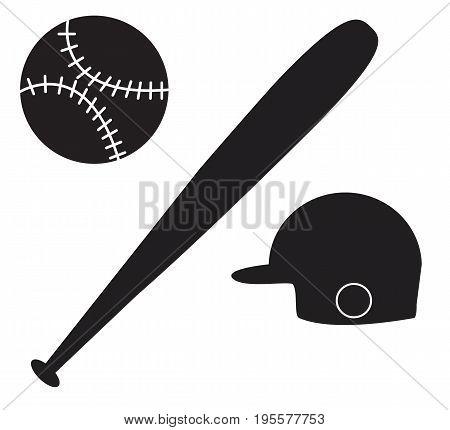 baseball icon on white background. baseball sign.