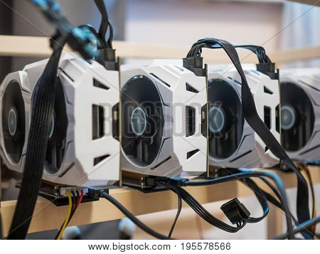 Computer for Bitcoin mining
