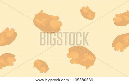 Collection stock background Thanksgiving style vector illustration