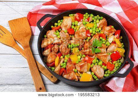 Stir Fry Meat Filet Cut In Piece