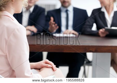 Applying for a vacancy in a big corporation