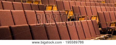 Comfortable Seats In Spacious Auditorium