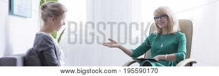 Woman During Psychotherapy