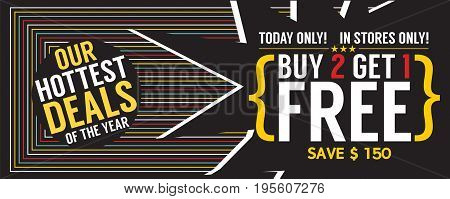 Buy 2 Get 1 Free 12569