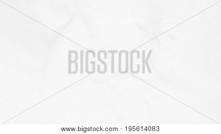 Crumpled white paper texture background for business, education and communication concept design.