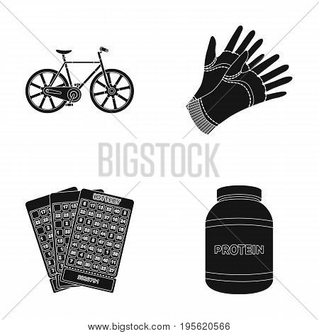 agriculture , Casino and other  icon in black style.sports, medicine icons in set collection.