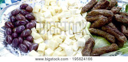 Traditional Balkans Kebaps Image Of A