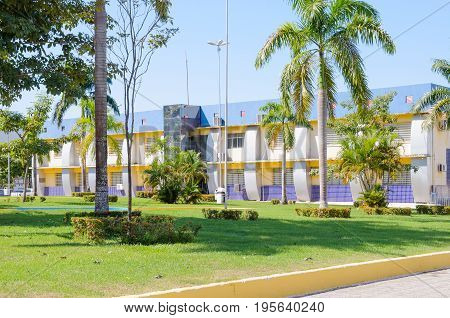 Side View Of Porto Velho Town Hall