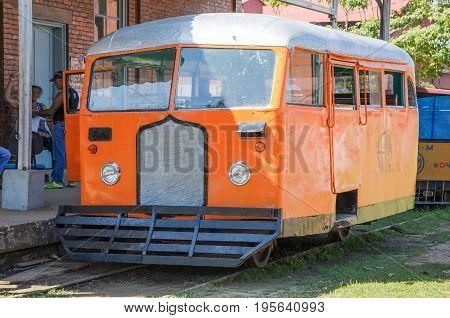 Litorina Tour On Estrada De Ferro Madeira-mamore Railroad In Porto Velho Ro